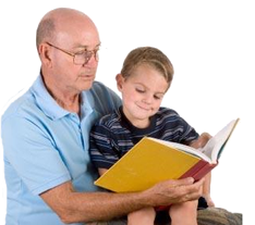 read-child-grandpa