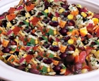 blackbean and rice salad