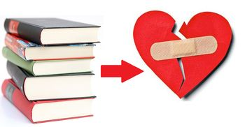 books broken heart