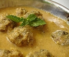 indian curried meatballs